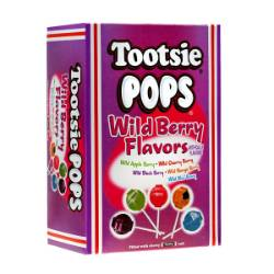 Tootsie Pops Assorted Wild Berry Flavors