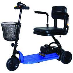 Shoprider SL73-BLUE-Echo 3 Wheel Scooter